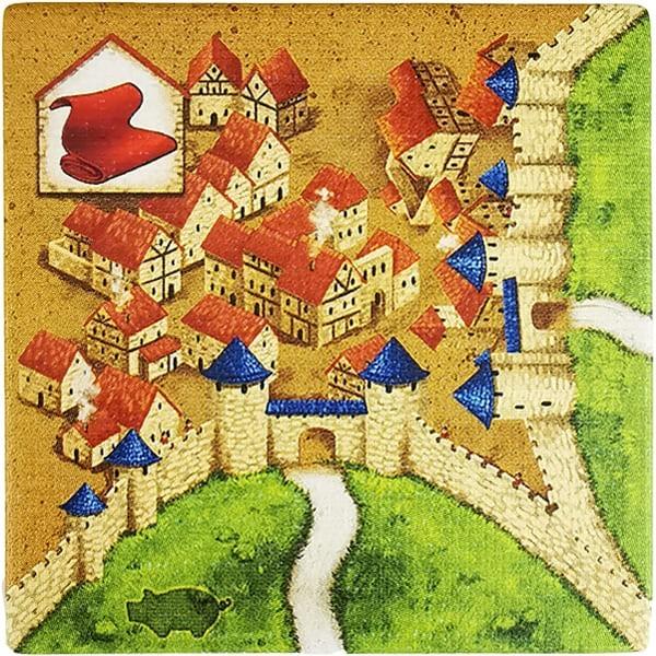 Carcassonne - Händler und Baumeister Plättchen HO