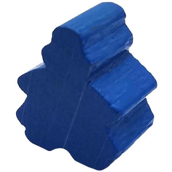 Carcassonne - Die Depeschen Meeplefrau blau