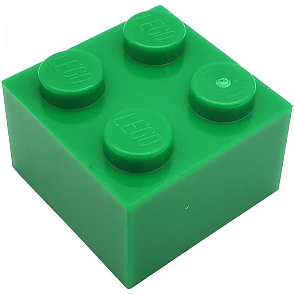 LEGO® Stein 2 x 2 grün 300328