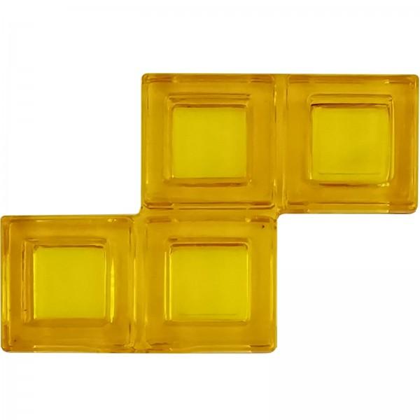 Blokus® Plättchen gelb Variante 9