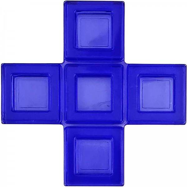 Blokus® Plättchen blau Variante 12