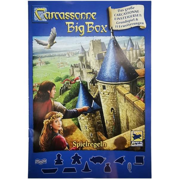 Carcassonne BigBox Spieleanleitung