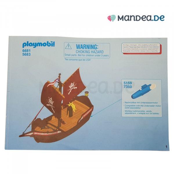 PLAYMOBIL® 6681 Kanonenboot Anleitung 30829163