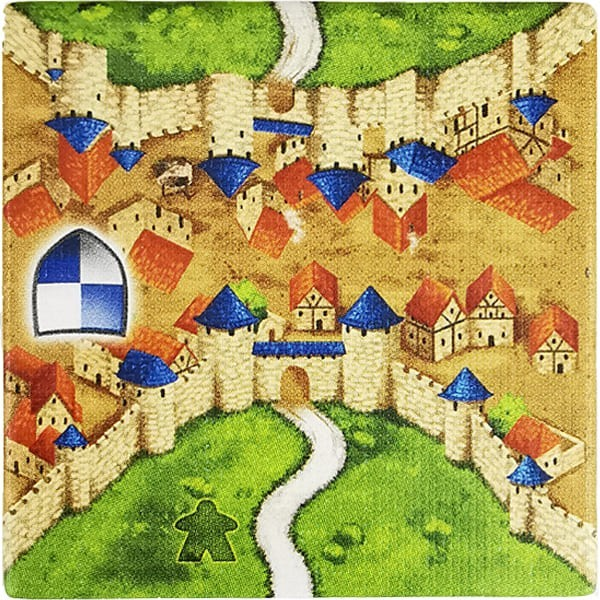 Carcassonne - Wirtshäuser und Kathedralen Plättchen EQ