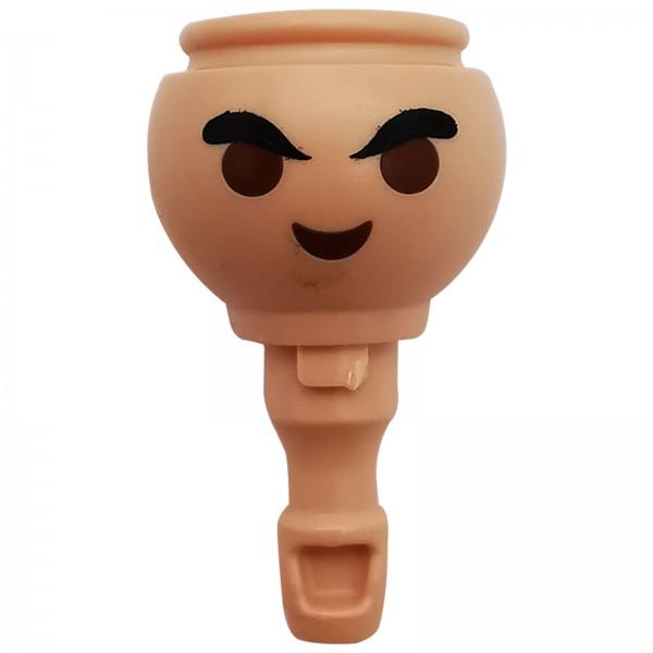 Playmobil Kopf mit grimmingem Blick