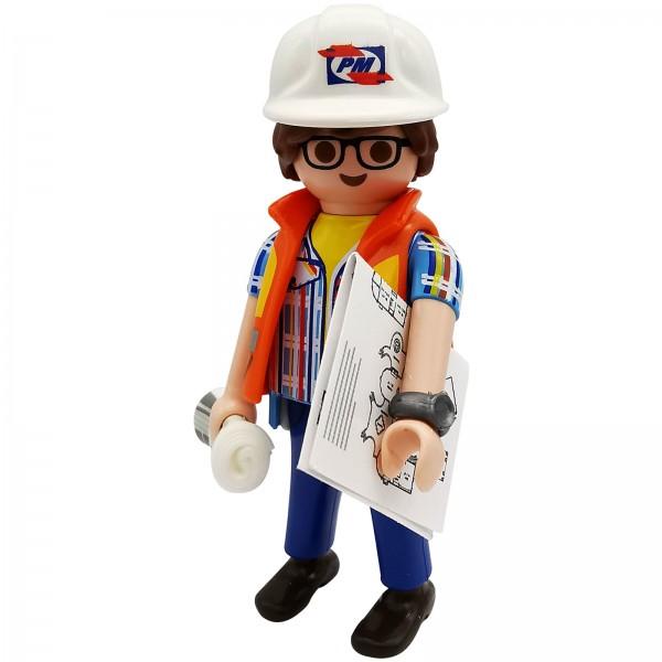 Playmobil Figures Serie 18 Ingenieur k70369h