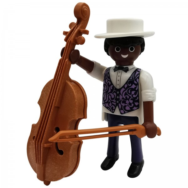 Playmobil Figures Serie 16 Cellospieler k70159a