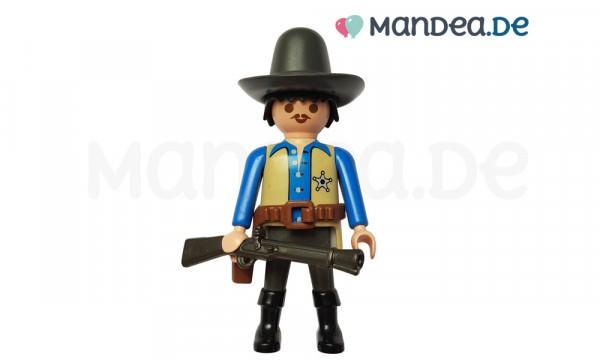 PLAYMOBIL® Western Figur mit Hut und Gewehr