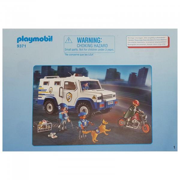 PLAYMOBIL® Bauanleitung 30801085