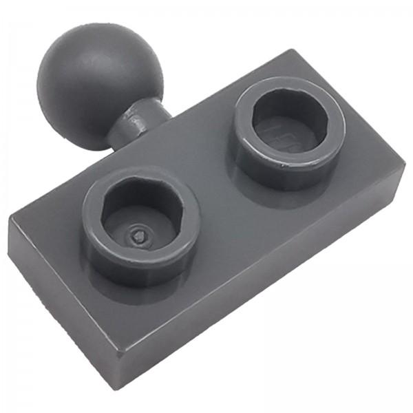 LEGO® Modifizierte Platte 1 x 2 dark bluish grey 6039479