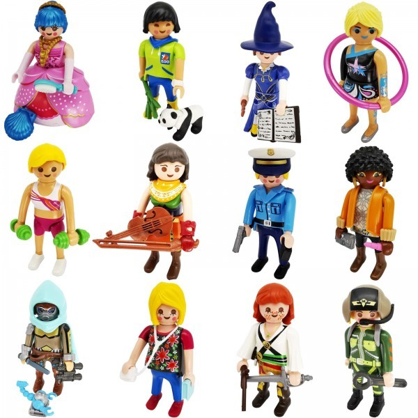 PLAYMOBIL® 70566 Figures Serie 19 Girls Komplett Set