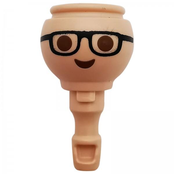 Playmobil Kopf mit Brille