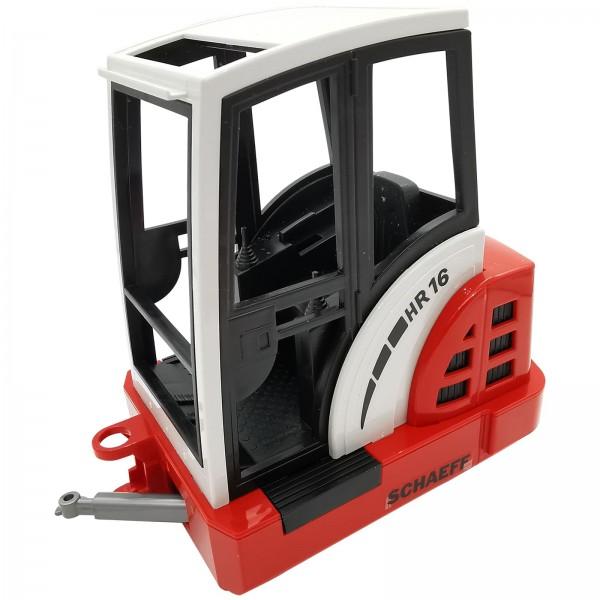 Bruder HR16 Minibagger Kabine Ersatzteil