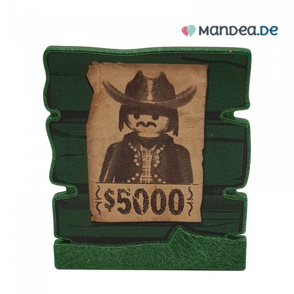 PLAYMOBIL® Wanted Schild 30041572
