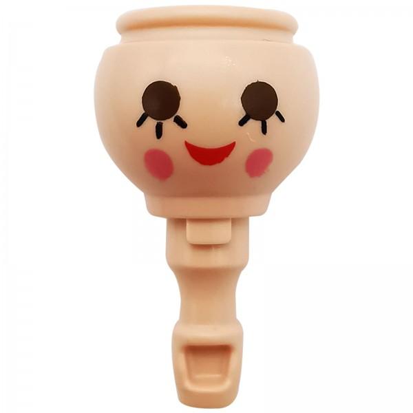 Playmobil Kopf weiblich lächelnd