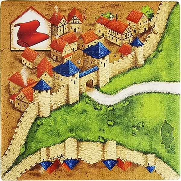 Carcassonne - Händler und Baumeister Plättchen HL
