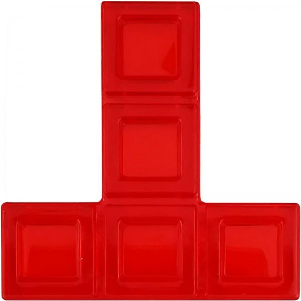 Blokus® Plättchen rot Variante 11