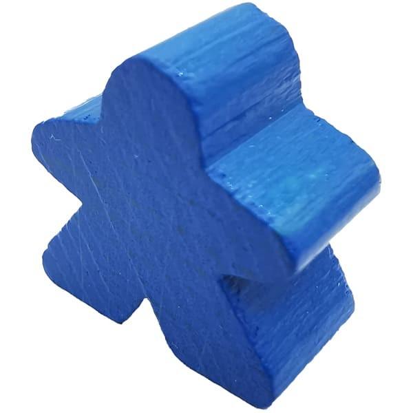 Carcassonne - Große Meeple Figur in blau