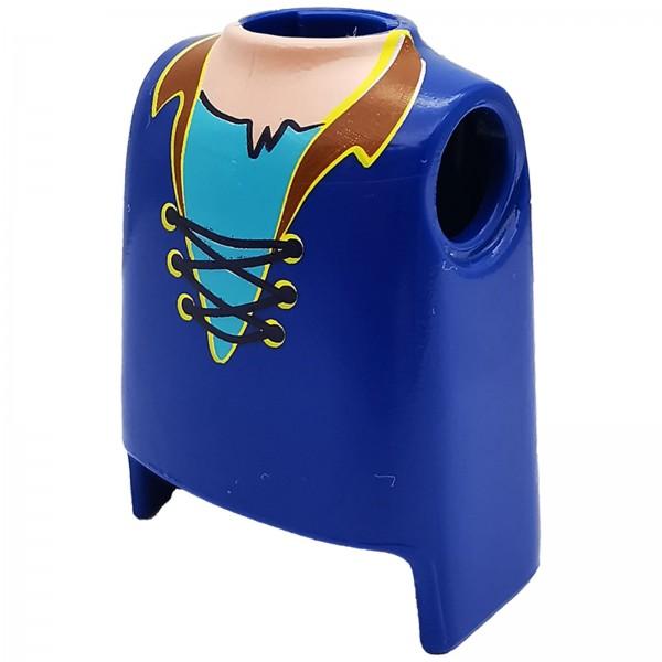 PLAYMOBIL® Oberkörper Hemd blau