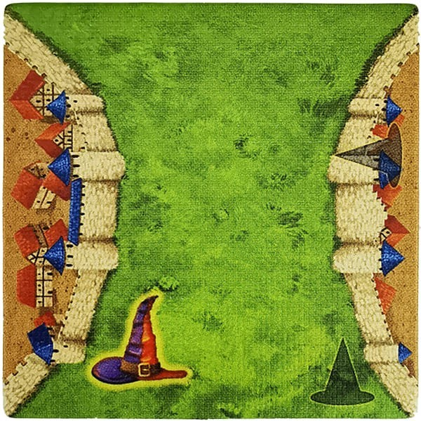 Carcassonne - Magier und Hexe MaHeD
