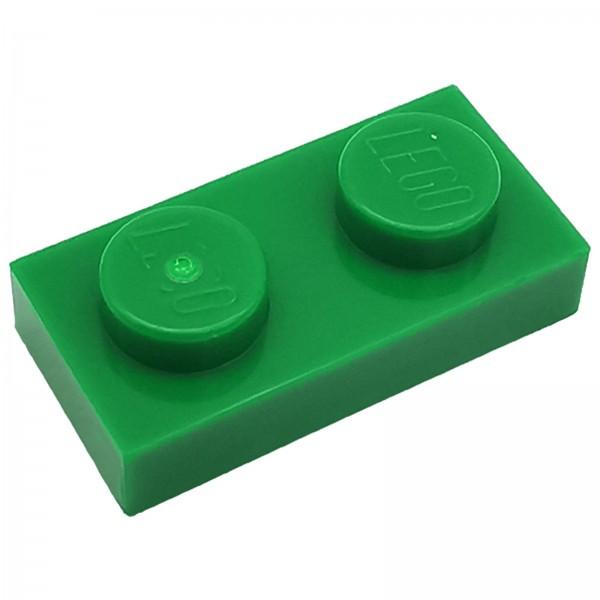 LEGO® Platte 1 x 2 grün 302328