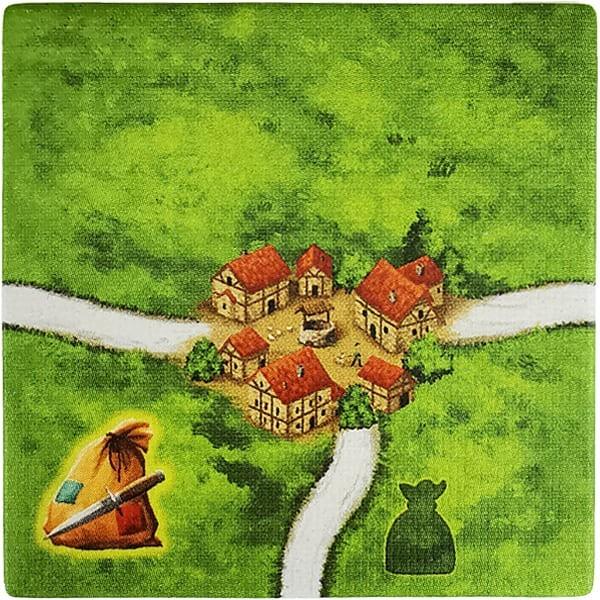 Carcassonne - Die Räuber RaubC mit Kreuzung