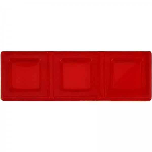 Blokus® Plättchen rot Variante 3