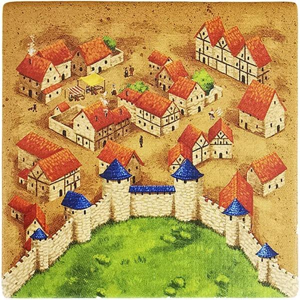 Carcassonne Plättchen R 1 / 3