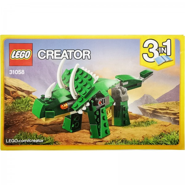 LEGO® 31058 Dinosaurier Bauanleitung 3 / 3