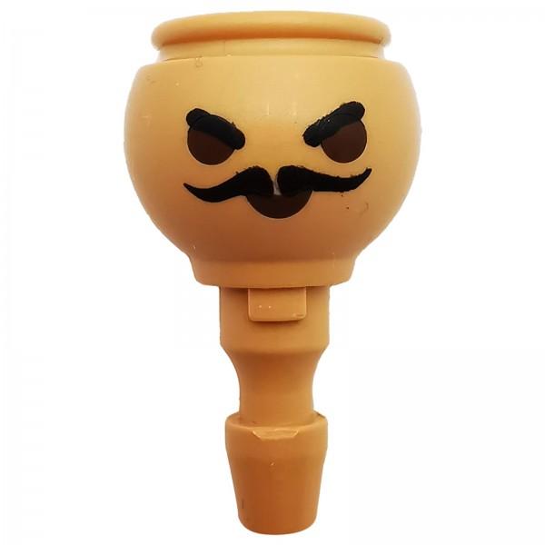 PLAYMOBIL® Kopf mit Schnurrbart