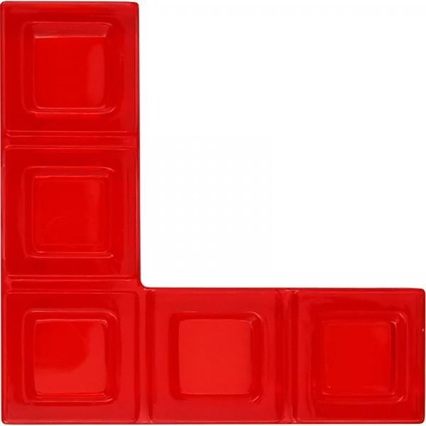 Blokus® Plättchen rot Variante 19
