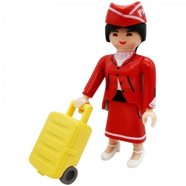 Playmobil Figures Serie 18 Flugbegleiterin k70370b