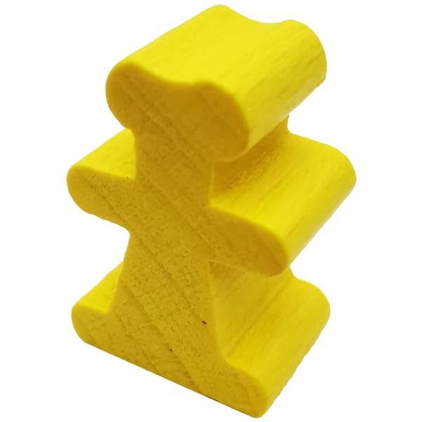 Carcassonne - Baumeister Figur gelb