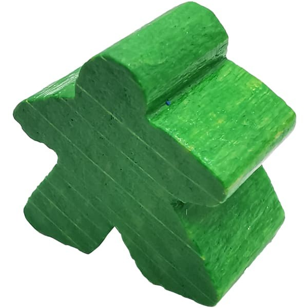 Carcassonne Meeple Figur grün
