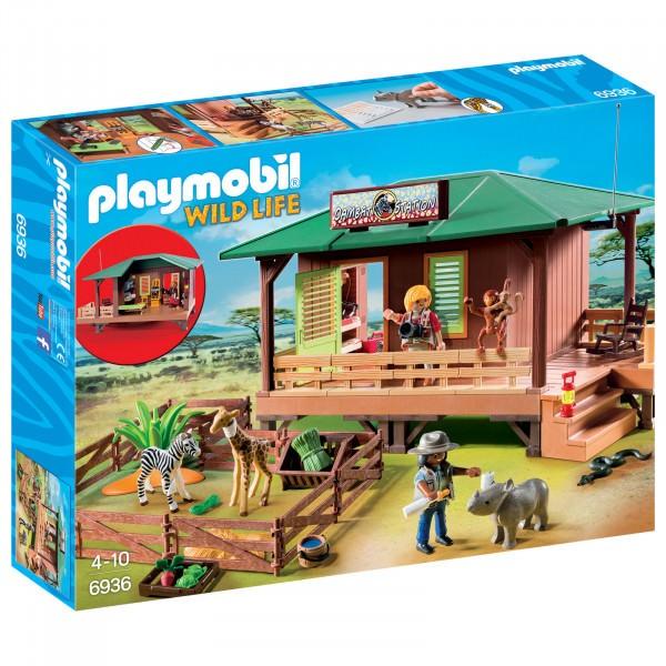 PLAYMOBIL® 6936 Rangerstation mit Tieraufzucht