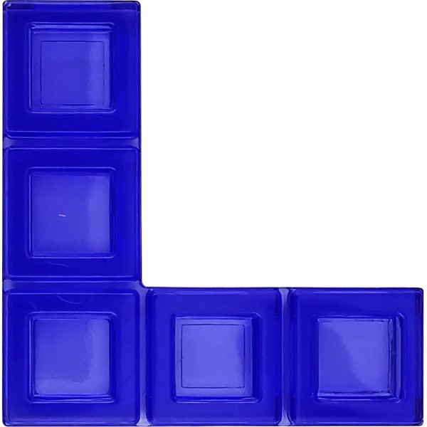 Blokus® Plättchen blau Variante 19