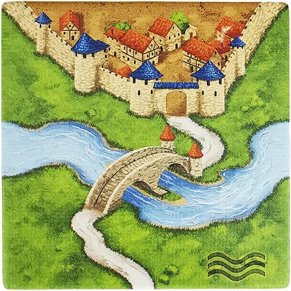 Carcassonne - Der Fluss Plättchen BB6F2