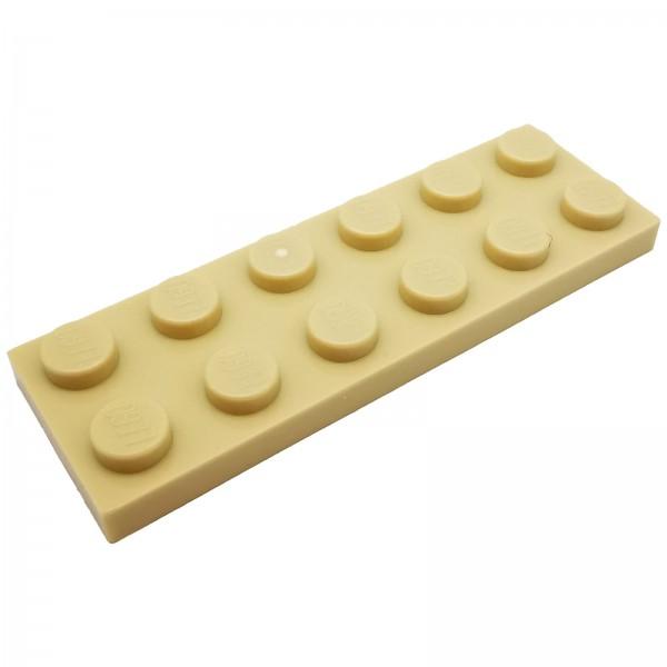 LEGO® Platte 2 x 6 beige 4113993