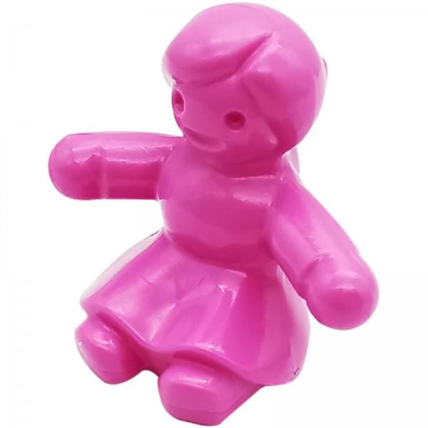 Playmobil Puppe sitzend pink glänzend 30058662