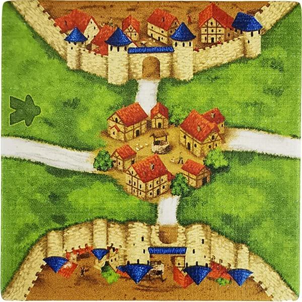 Carcassonne - Wirtshäuser und Kathedralen Plättchen EI