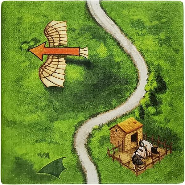 Carcassonne - Die Fluggeräte FlugC