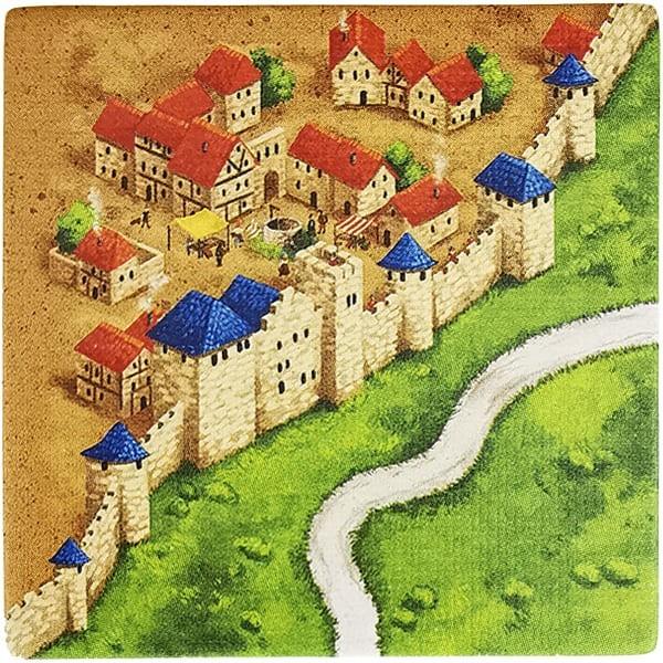 Carcassonne Plättchen P 1 / 3