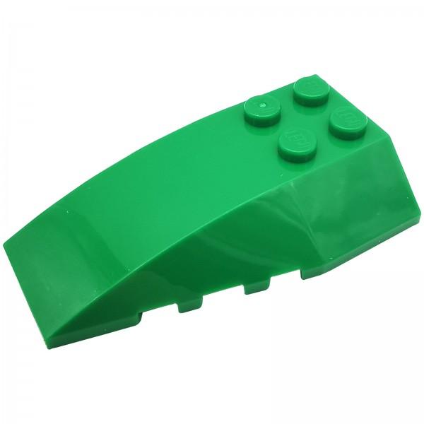 LEGO® Keil Schrägstein 4 x 6 grün 4655332