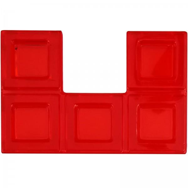 Blokus® Plättchen rot Variante 15