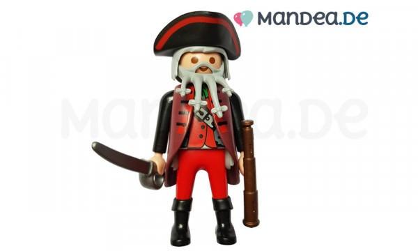 PLAYMOBIL® Figur Pirat mir Rauschebart