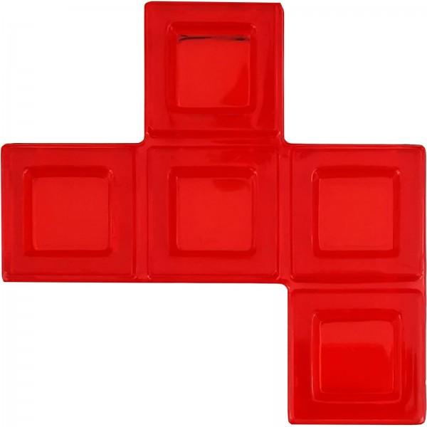 Blokus® Plättchen rot Variante 16