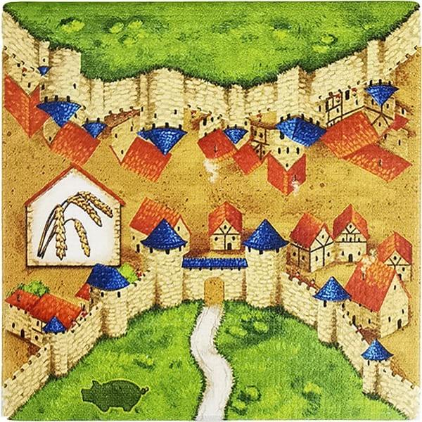 Carcassonne - Händler und Baumeister Plättchen HE