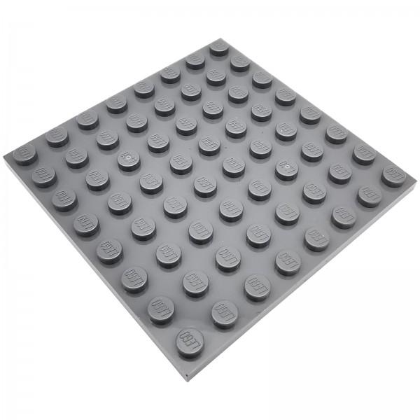 LEGO® Platte 4210802 8 x 8 Noppen 41539 farbe dark bluish grey
