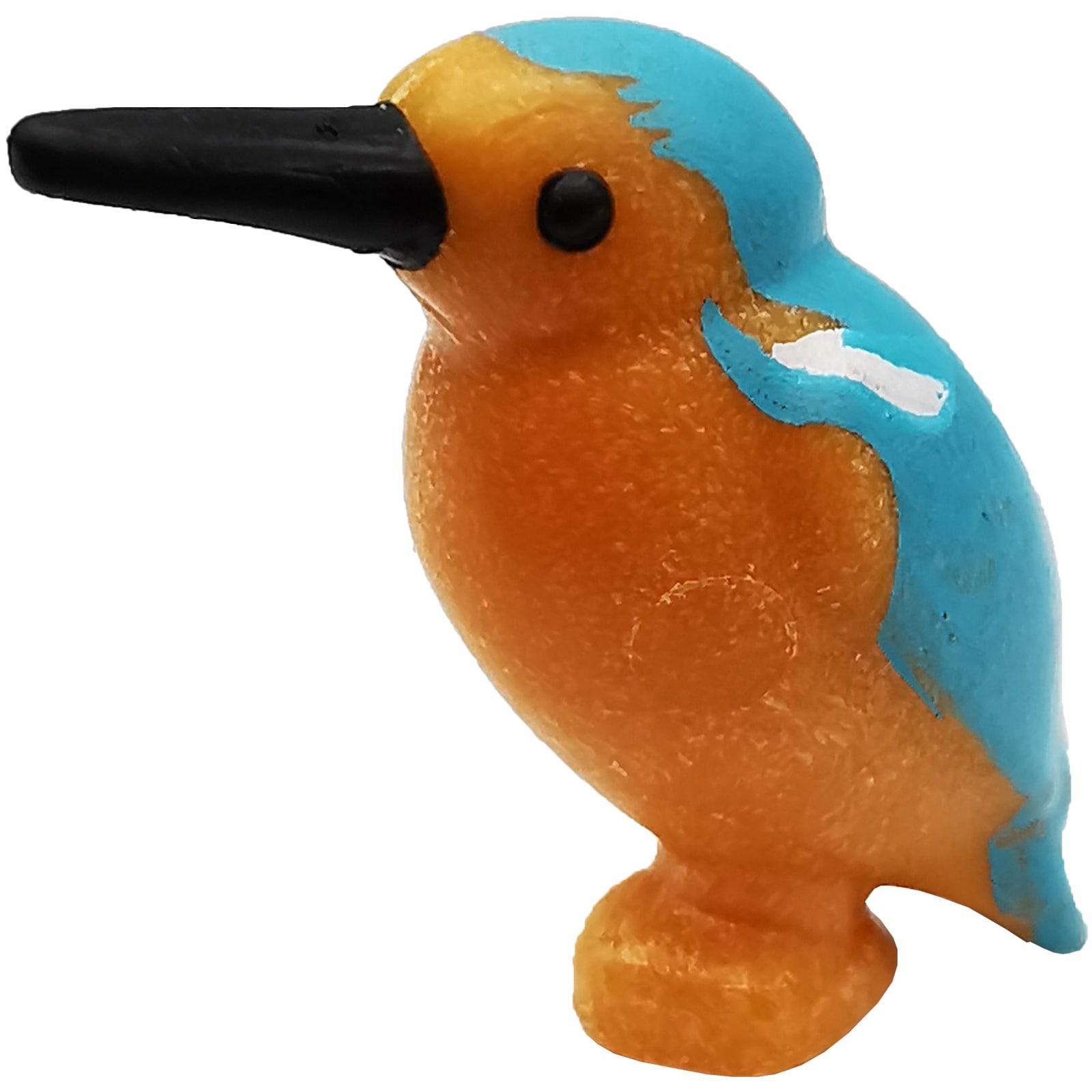 1 x Gelb Blauer Papagei  fürs  Piratenschiff  u.a //Playmobil.