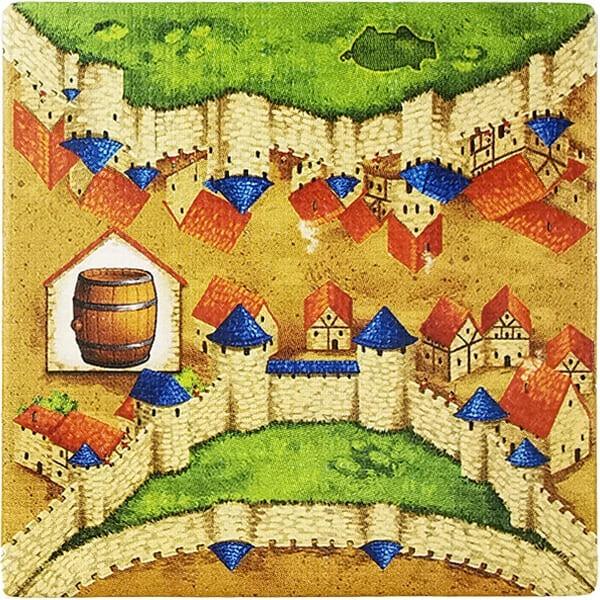 Carcassonne - Händler und Baumeister Plättchen HP